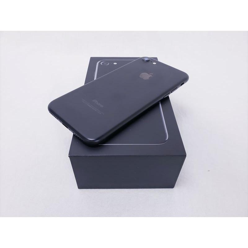 (中古) iPhone 7 128GB ブラック /NNCK2J/A 、softbank pcones 02