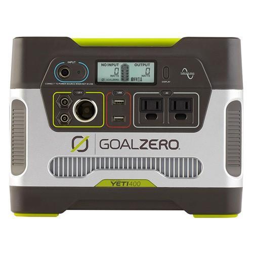 Goal Zero Yeti 400 Solar Generator R2 (日本語取説付) 63212 正規代理店保証付 (bt124)