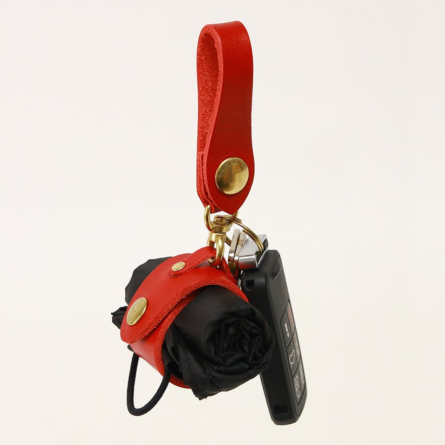 【ネコポス】キーホルダー エコバッグ 携帯 忘れない グローブホルダー ベルトループ 本革 AGILITY affa アジリティアッファ マイバッグホルダー[M便 3/3] pdd 12