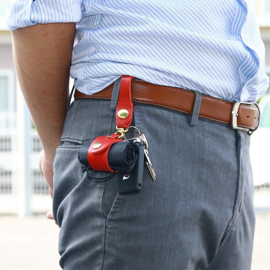 【ネコポス】キーホルダー エコバッグ 携帯 忘れない グローブホルダー ベルトループ 本革 AGILITY affa アジリティアッファ マイバッグホルダー[M便 3/3] pdd 19