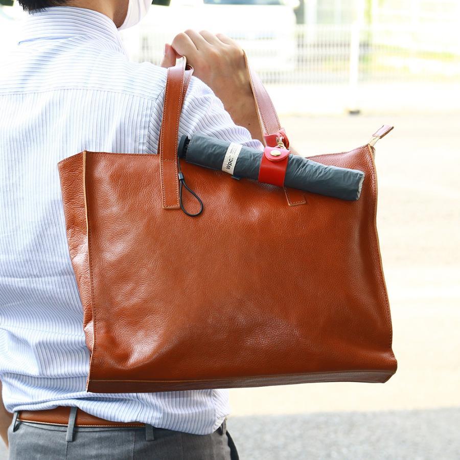 【ネコポス】キーホルダー エコバッグ 携帯 忘れない グローブホルダー ベルトループ 本革 AGILITY affa アジリティアッファ マイバッグホルダー[M便 3/3] pdd 20