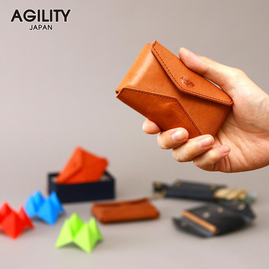 財布 ミニ財布 小さい フラップ付き財布 キーリング付き コンパクト 革 本革 AGILITY affa アジリティアッファ パクパクウォレット|pdd