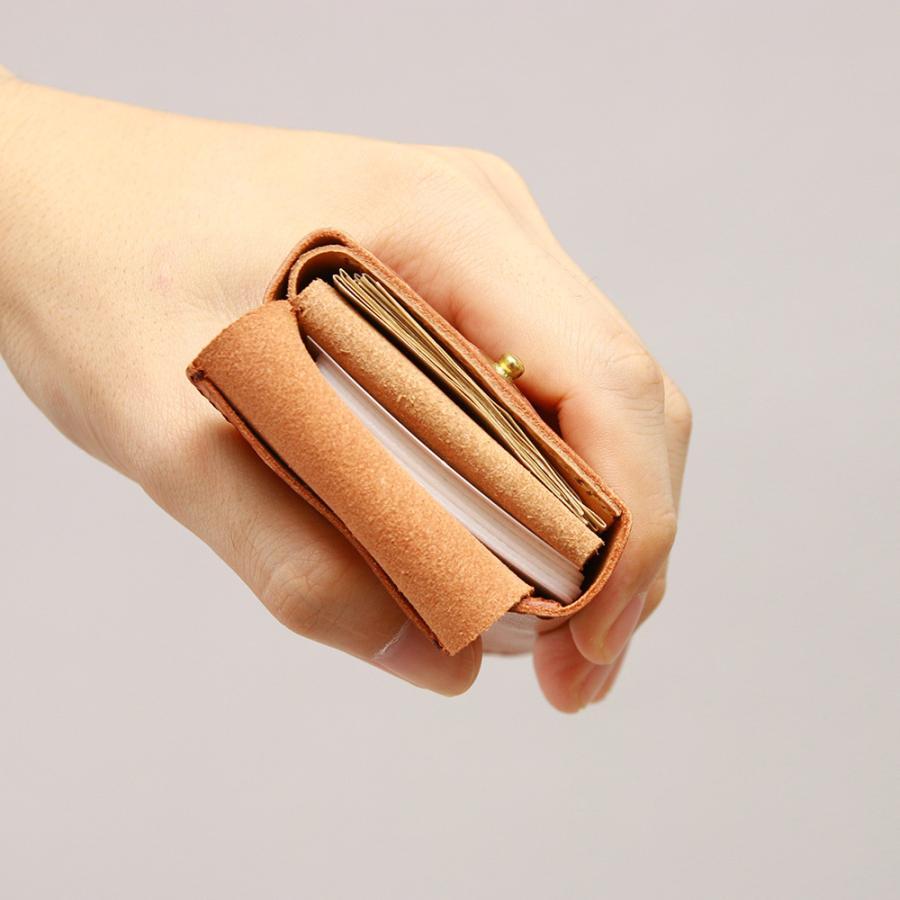 財布 ミニ財布 小さい フラップ付き財布 キーリング付き コンパクト 革 本革 AGILITY affa アジリティアッファ パクパクウォレット|pdd|14