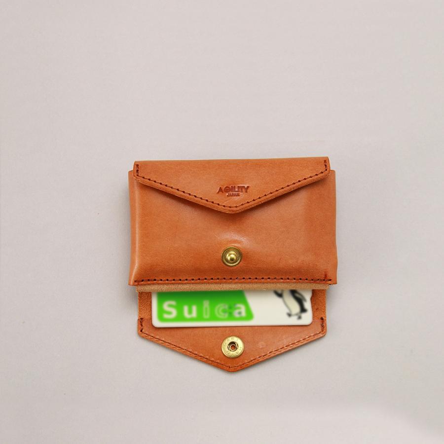 財布 ミニ財布 小さい フラップ付き財布 キーリング付き コンパクト 革 本革 AGILITY affa アジリティアッファ パクパクウォレット|pdd|16