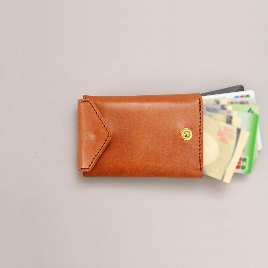 財布 ミニ財布 小さい フラップ付き財布 キーリング付き コンパクト 革 本革 AGILITY affa アジリティアッファ パクパクウォレット|pdd|17