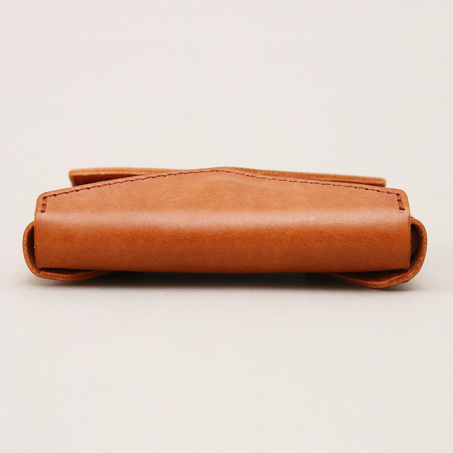 財布 ミニ財布 小さい フラップ付き財布 キーリング付き コンパクト 革 本革 AGILITY affa アジリティアッファ パクパクウォレット|pdd|07