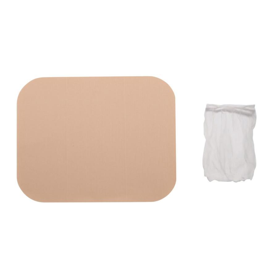 おふろシール(ストーマ装具保護ネット付) 温泉や入浴にあると便利   パウチの上から貼って簡単入浴 peacecare
