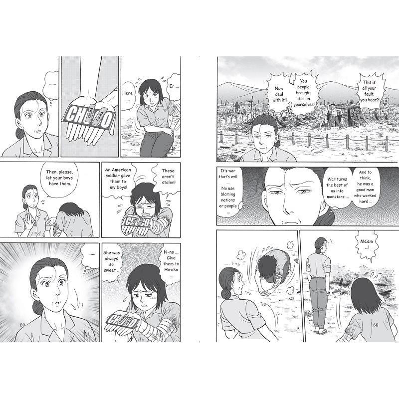 """英語版""""The Hiroshima Miracle""""(ヒロシマミラクル)【合本版】 peacepieceproject 03"""