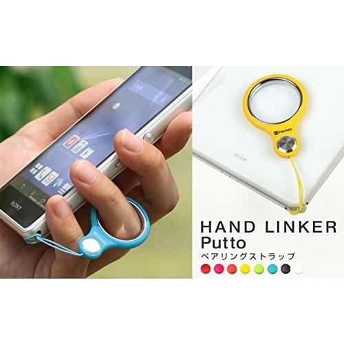 HandLinker Putto ハンドリンカー プット ベアリング モバイル 携帯ストラップ フィンガーストラップ 落下防止 (ブラック) peaces 05