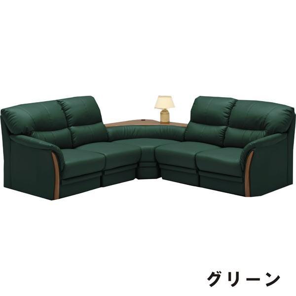 ソファ コーナーソファー 5点 合成皮革 合成皮革 PVC コンセント付き 北欧 モダン 完成品