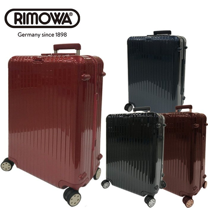 RIMOWA SALSA DELUX 29 Multiwheel (830.7) [Black][Brown][Orient Red][Yachting Blue] リモワ スーツケース プレゼント ギフト
