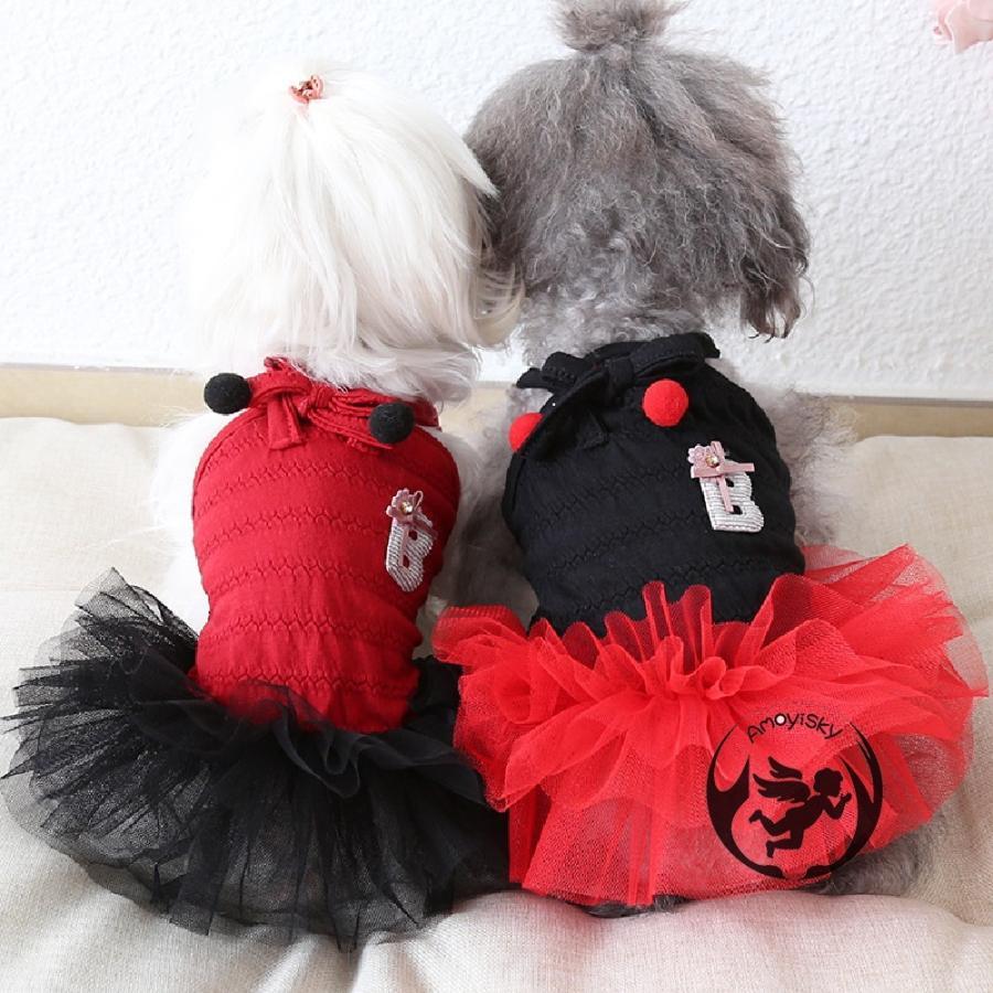 犬服 猫の服 ペット服 ペット用品 ドッグウェア 春夏 ワンピース コスプレ ドレス お姫様 フリル レース かわいい 小型犬 中型犬用 peachsumairu 02