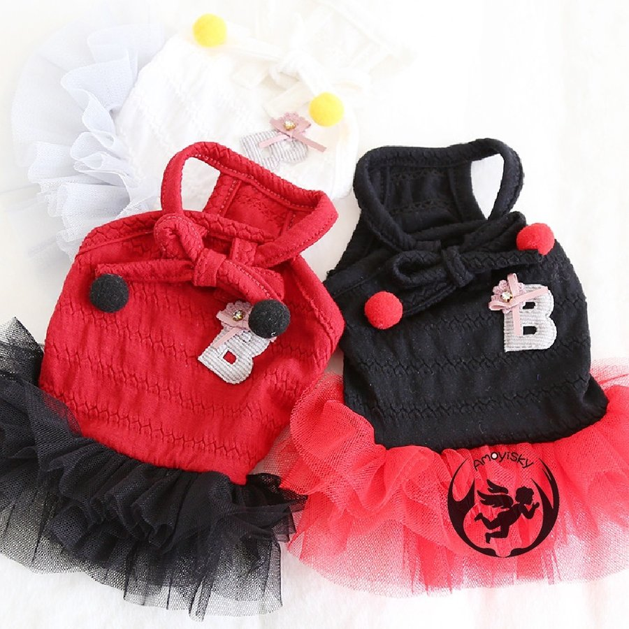 犬服 猫の服 ペット服 ペット用品 ドッグウェア 春夏 ワンピース コスプレ ドレス お姫様 フリル レース かわいい 小型犬 中型犬用 peachsumairu 10