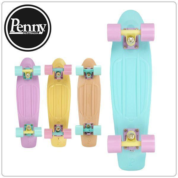 """ペニースケートボード PennySkateboardsNickel コンプリート complete 22"""" PASTELS 22インチ パステル ストリート"""