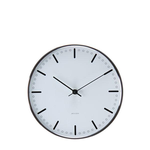 Rosendahl ローゼンダール アルネ・ヤコブセン シティホール 掛け時計 Arne Jacobsen AJ City Hall Clock 210, 白い 43631