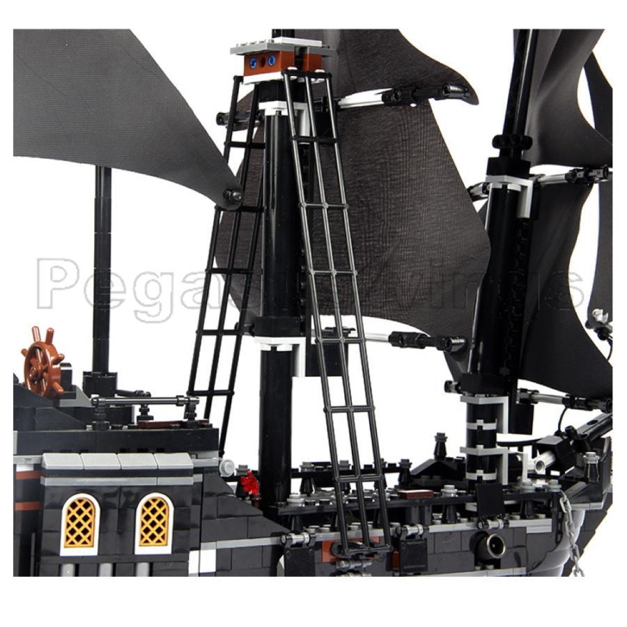 レゴ互換 ブロック パイレーツ・オブ・カリビアン ブラックパール号 4184 DE社製 国内在庫 ピース欠品保証 外箱あり 翌日発送 pegasuswings 03