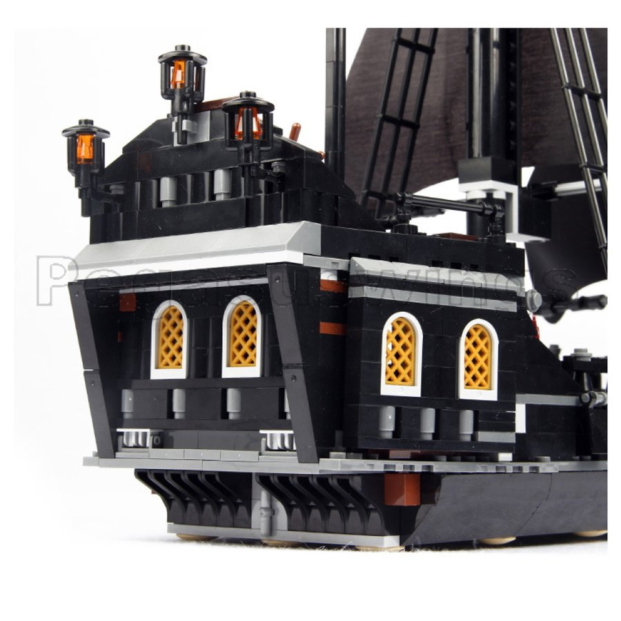 レゴ互換 ブロック パイレーツ・オブ・カリビアン ブラックパール号 4184 DE社製 国内在庫 ピース欠品保証 外箱あり 翌日発送 pegasuswings 04