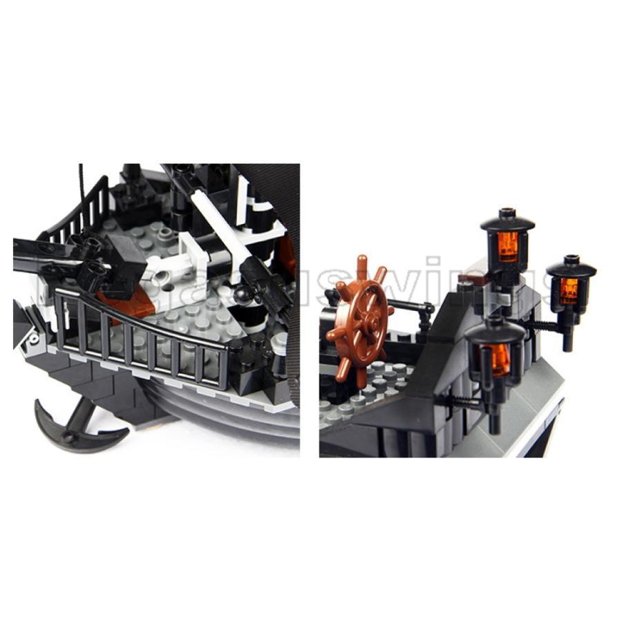 レゴ互換 ブロック パイレーツ・オブ・カリビアン ブラックパール号 4184 DE社製 国内在庫 ピース欠品保証 外箱あり 翌日発送 pegasuswings 05