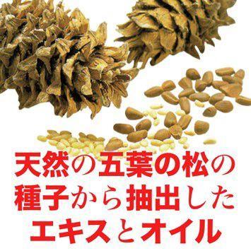 五葉の松種子SPNエキス『ブラック』90粒|pejapan|03
