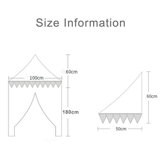 天蓋 キャノピー 子供部屋 キャノピー テント 折りたたみ式 テント キャノピーベッドカーテン|pekoma|04