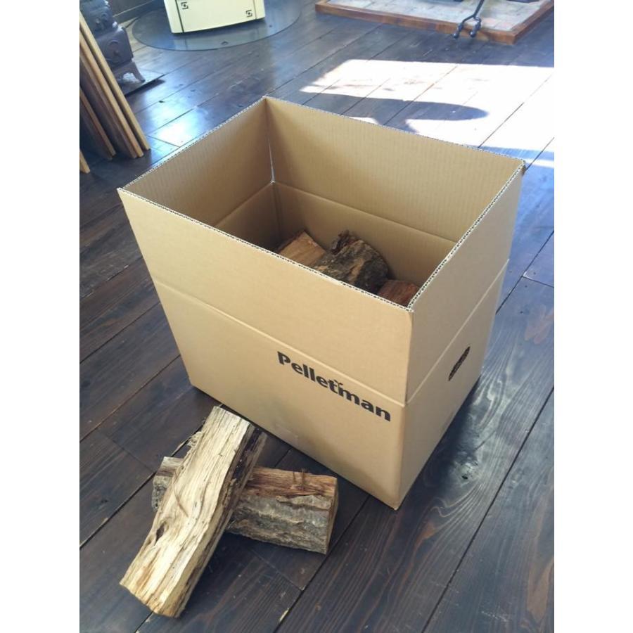 薪(ナラ) 山形県産  (約30cm) 20kg 一箱 薪ストーブ・焚き火・BBQに!|pelletman|06