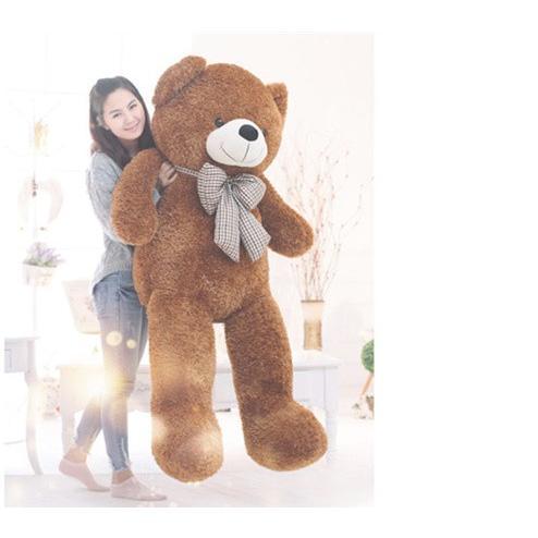 【送料無料】くま ぬいぐるみ  抱き枕 クマ デデイベア 動 物  熊 縫いぐるみ クリスマ スプ レゼント 可愛い 誕生 日  ギフ ト160cm