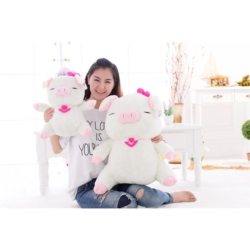 【送料無料】ぬいぐるみ ぶた 抱き枕 ブタ 動物 大きい 豚 PIG クリスマス プレゼント 彼女 ギフト ふわふわ 60cm