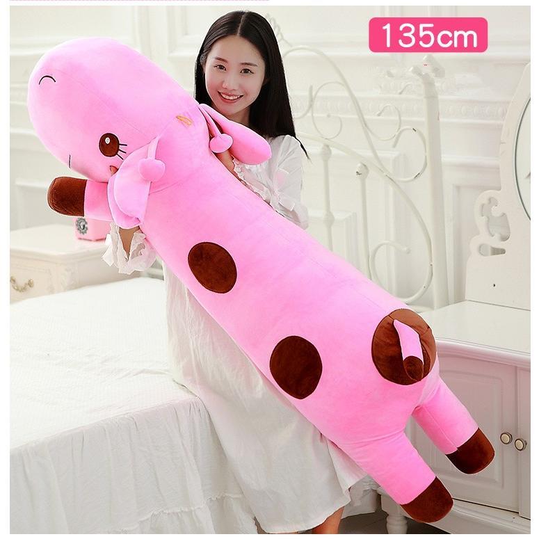 【送料無料】ぬいぐるみ キリン 抱き枕 大きい 麒麟 縫いぐるみ だきまくら きりん プレゼント 女性人気 インテリア 135cm