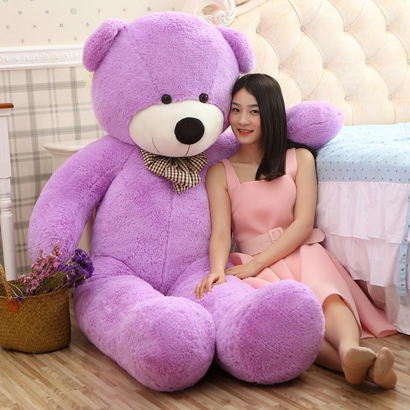 【送料無料】くま ぬいぐるみ クマ デデイベア 特大 動物 大きい 熊 可愛い 縫いぐるみ 抱き枕 プレゼント お祝い 贈り物180cm 5色