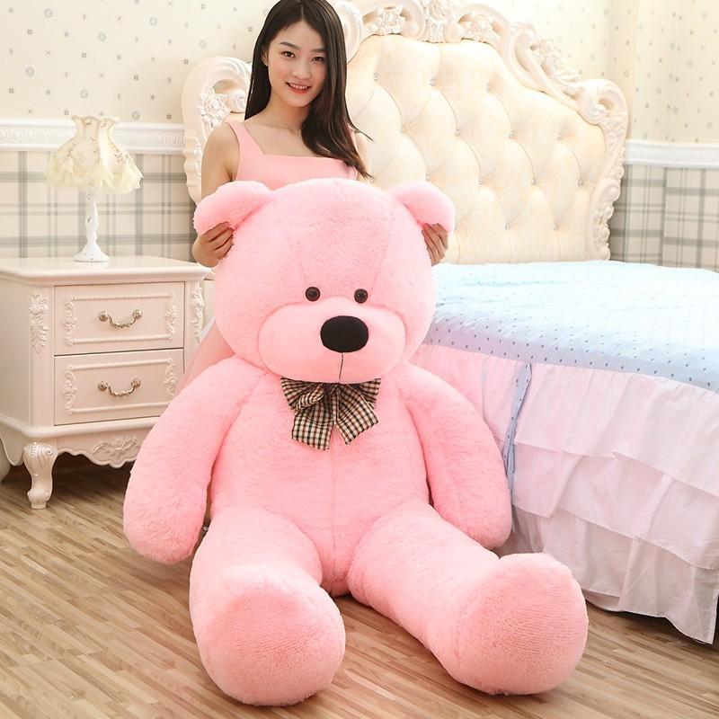 【送料無料】くま ぬいぐるみ クマ デデイベア 特大 動物 大きい 熊 可愛い 縫いぐるみ 抱き枕 プレゼント お祝い 贈り物200cm 5色