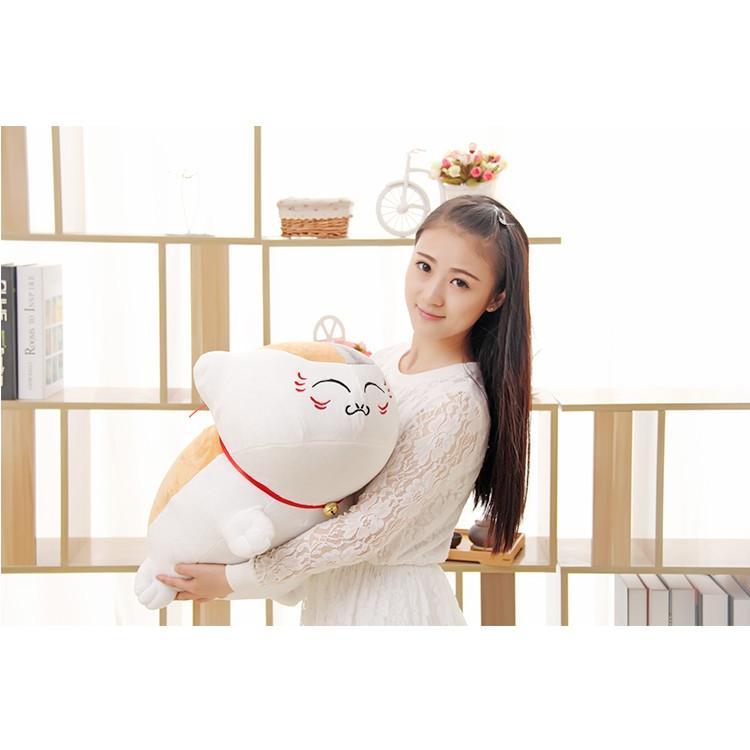 【送料無料】ネコ ぬいぐるみ ニャンコ先生 ねこ 抱き枕 猫 クッション 夏目友人帳のネコ先生 プレゼント