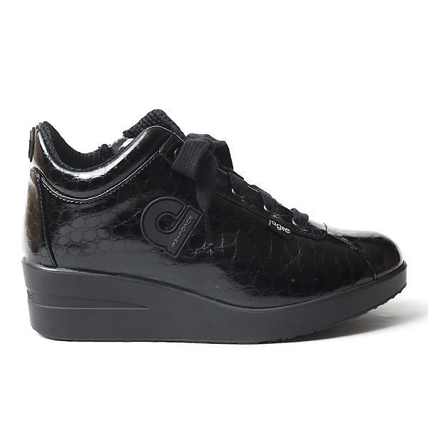 ルコライン 靴 アージレ agile by RUCO LINE 靴 Baby Croco ブラック 黒 agile-112 スニーカー アージレ バイ ルコライン pendant 02