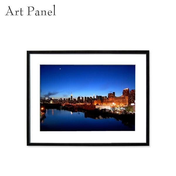 アートパネル インテリア おしゃれ ニューヨーク ニューヨーク 夜景 海外 壁掛け モダン 風景 額付 絵画 写真