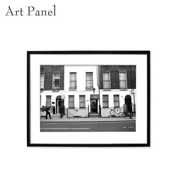 アートパネル アートパネル インテリア おしゃれ ロンドン 街 モノトーン 海外 壁掛け モダン 風景 額付き 絵画 写真
