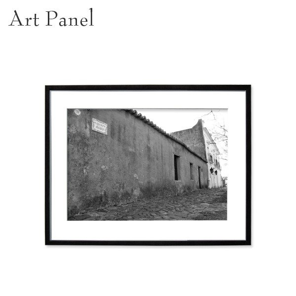 アートパネル インテリア 付属品充実 街並み モノクロ 壁掛け おしゃれ 風景 絵画 写真