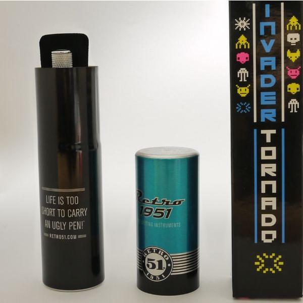 レトロ51 ボールペン 限定版 トルネード インベーダー|penpapi|05