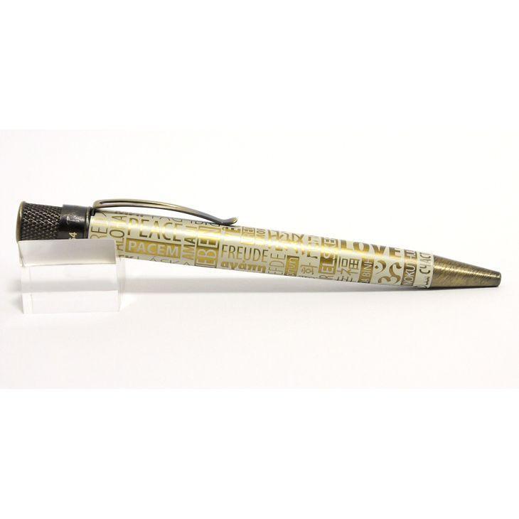 レトロ51 ボールペン 限定入荷 トルネード PEACE LOVE&HAPPINESS ボールペン|penpapi|02