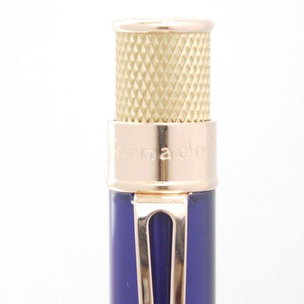 レトロ51 ボールペン トルネード ゴールドライン ブルー/ゴールド|penpapi|02