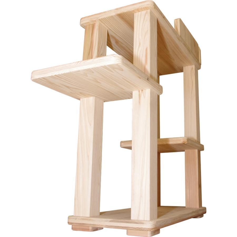 キャットタワー 木製 杉にゃん 据え置き  ビギン 全高約94cm おすすめ シニア 子猫 爪とぎ 1年保証 運動不足 おしゃれ 設置 簡単|pet-kagu-kagu|09
