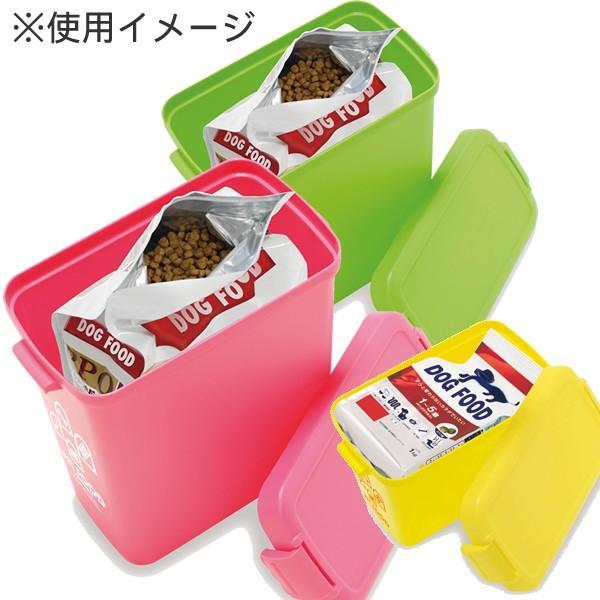 イセトー フードストッカー 密閉 ペット ペットフードカンパニー S グリーン 日本製|pet-square|02