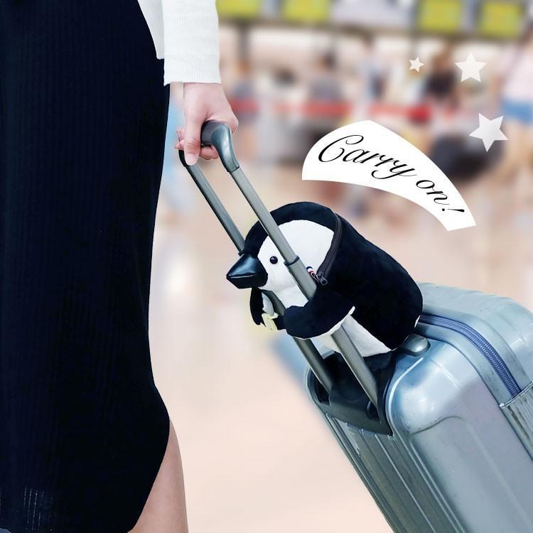 スーツケース 上 バッグ 機内持ち込み 軽量 小型 旅行 キャリーケース ショルダーバッグ キャリーオンペンギン2 プティルウ|petitloup|03