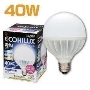 (在庫処分)LEDボール球 調色3色切替 40W LDG9-G/T-V1 アイリスオーヤマ