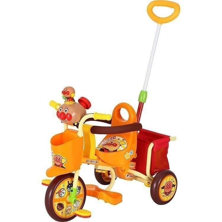 三輪車 アンパンマン わくわくアンパンマンごうピースII オレンジ エムアンドエム (D)