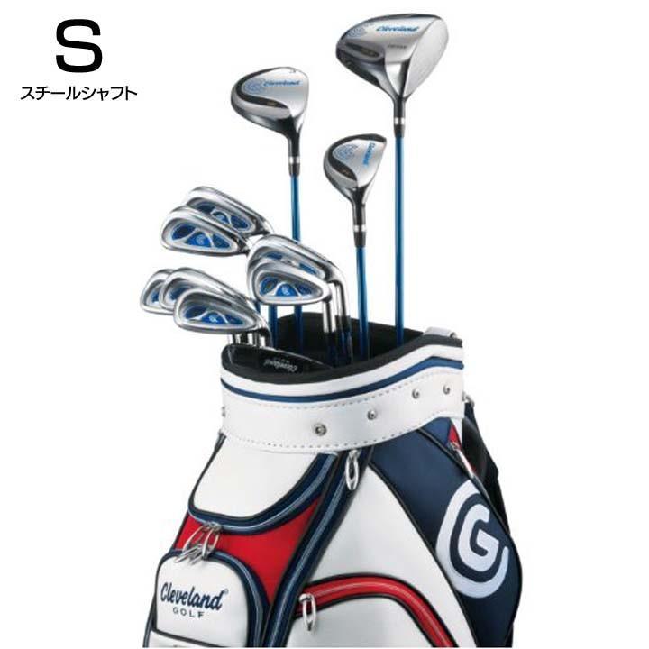 クリーブランドゴルフ メンズゴルフクラブ11本 オールインワン BOXSET S(スチールシャフト) 2JST クリーブランドゴルフ