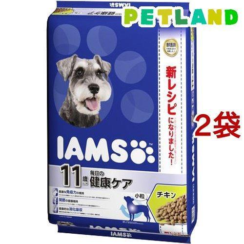 アイムス 11歳以上用 毎日の健康ケア チキン 小粒 ( 12kg*2袋セット )/ アイムス|petland