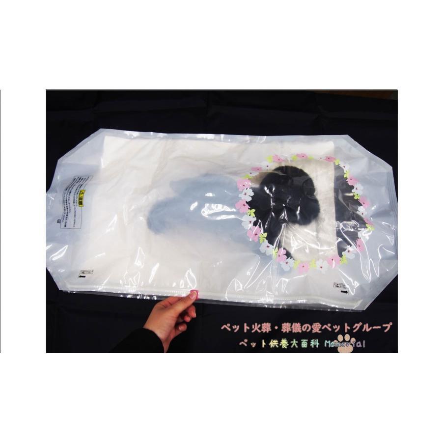 ペット仏具 ペット棺 おひつぎ 天使のつばさ Lサイズ 大型犬用|petmemorial|04