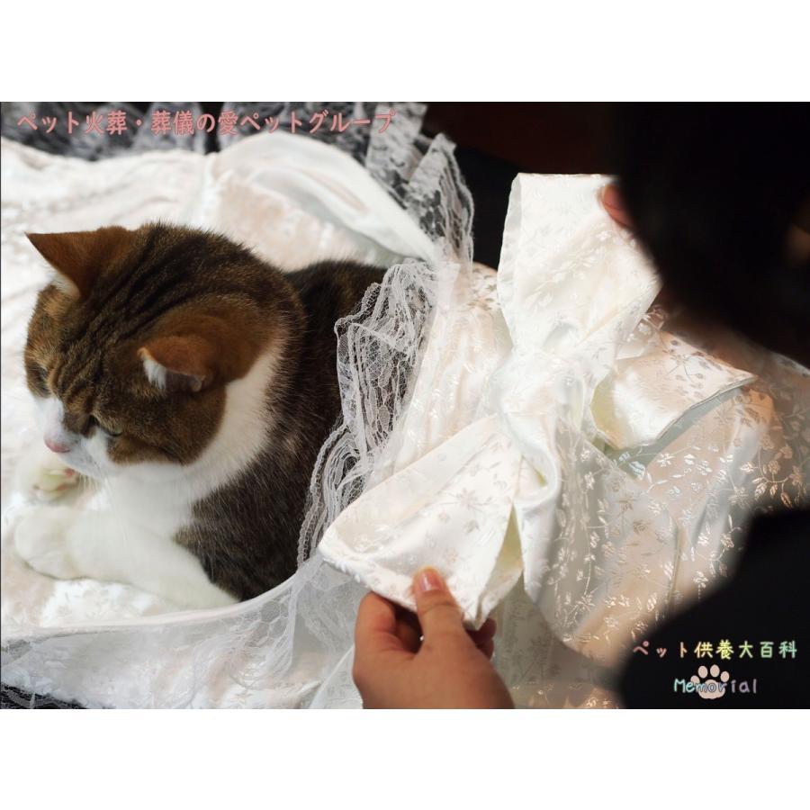 ペット用ひつぎ/天使のはごろも おくるみSと手作りミニ数珠のお得SET petmemorial 03