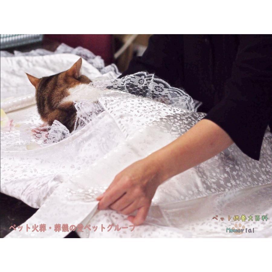 ペット用ひつぎ/天使のはごろも おくるみSと手作りミニ数珠のお得SET petmemorial 05