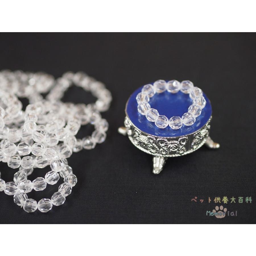 ペット用ひつぎ/天使のはごろも おくるみSSと手作りミニ数珠のお得SET物用|petmemorial|08