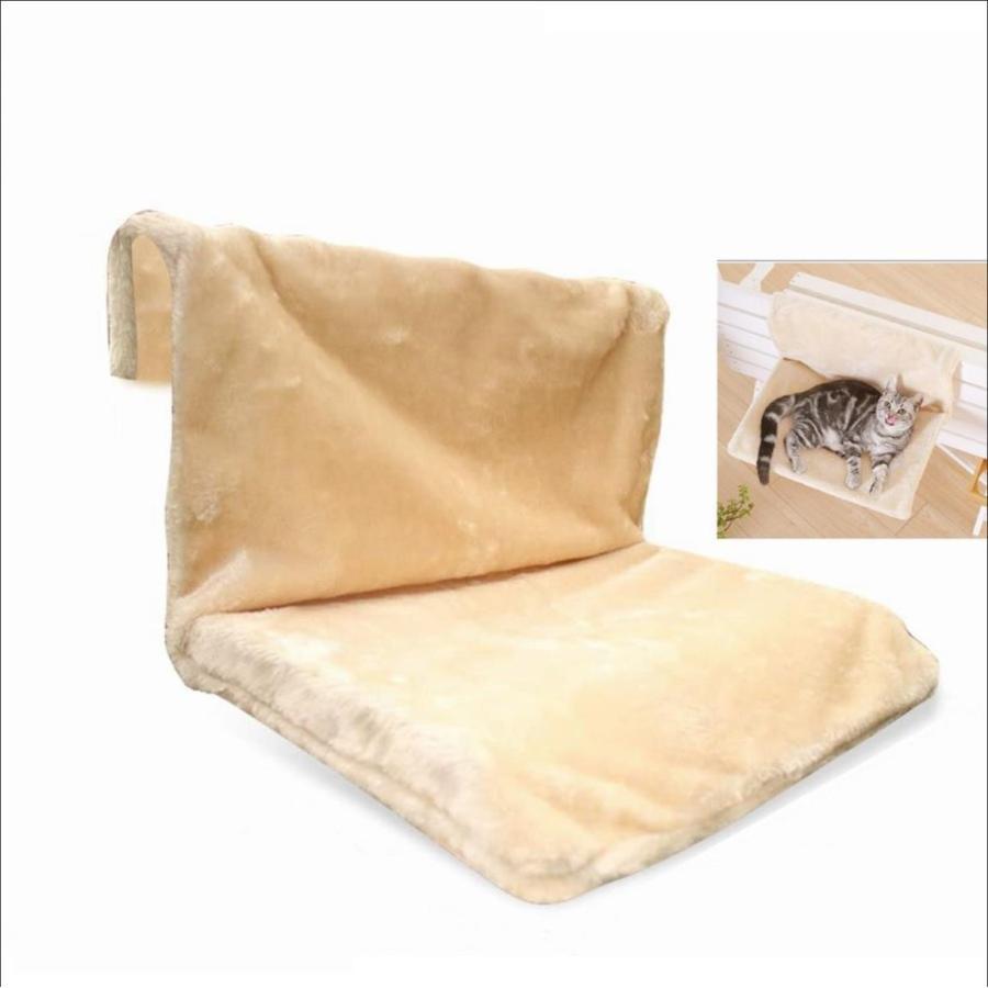 猫用 ハンモック キャットベッド お昼寝 椅子掛け 猫ベッド マット もこもこ ソファー 手すり 窓辺掛 椅子掛 ケージ掛 ケージ内に掛けられる 丸洗い petshopbelfa 04